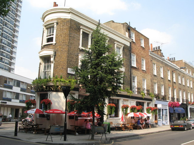 The Duke of Kendal, Connaught Street / Kendal Street, W2