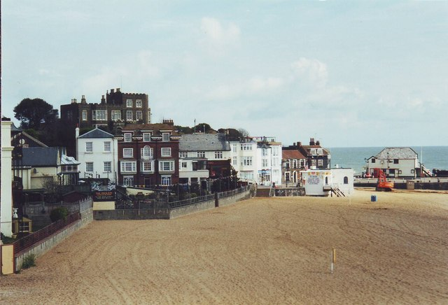 The beach at Broadstairs, Kent