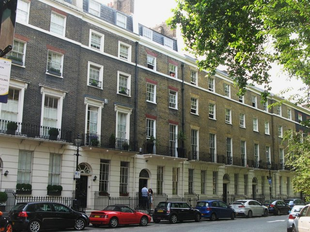Connaught Square, W2 - west side