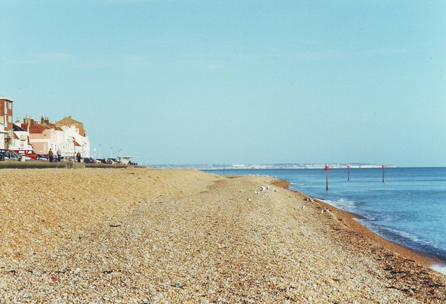 The beach at Deal, Kent