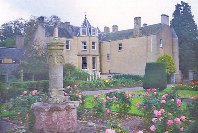 Myres Castle rear garden