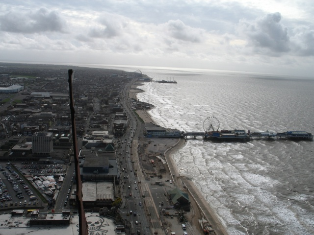 Blackpool Promenade Looking South