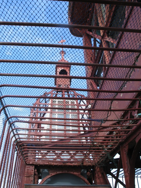 Steelwork, Blackpool Tower