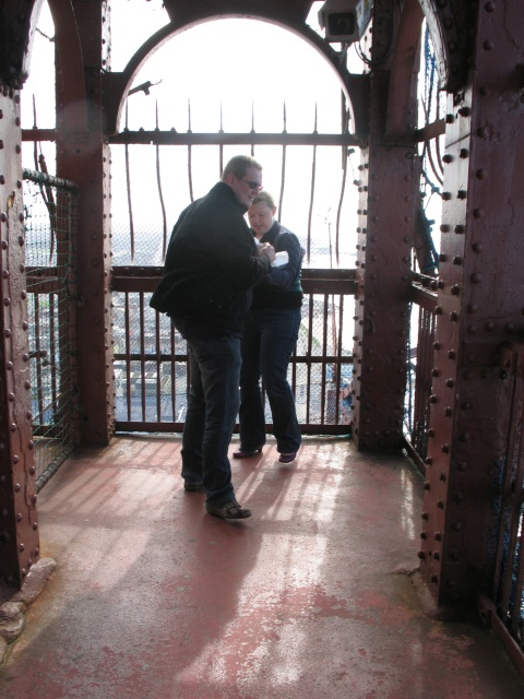 Viewing Platform, Blackpool Tower