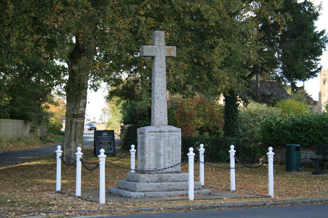 Clanfield war memorial