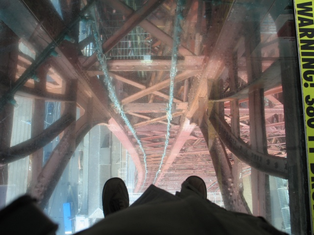 viewing platform  blackpool tower  u00a9 gerald massey
