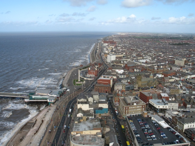Blackpool Promenade, Looking North
