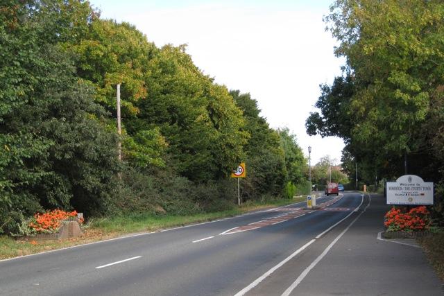 A429 Stratford Road approaching Warwick