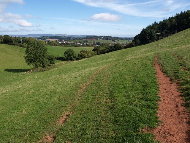 Valley west of Wiveliscombe