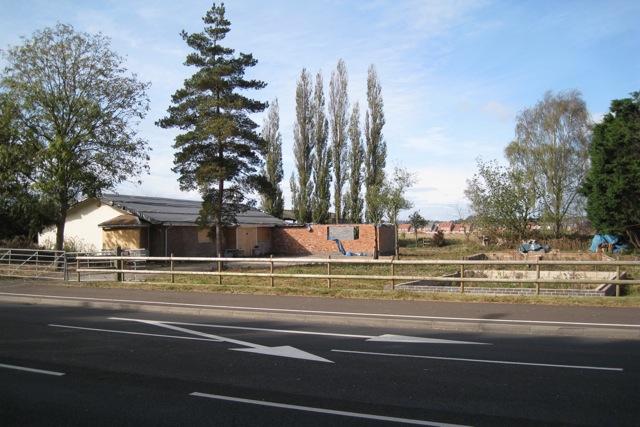 Awaiting demolition, Stratford Road, Warwick