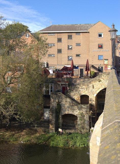 View from Framwellgate Bridge