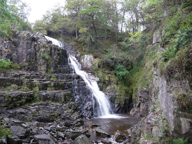 Pistyll Gain waterfall