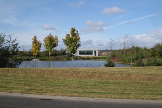 Landscaping, Tournament Fields business park, Warwick