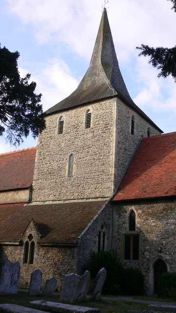 St Mary's church in South Hayling