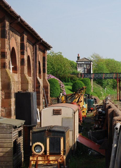 Odds & ends of engines, Ravenglass & Eskdale Railway