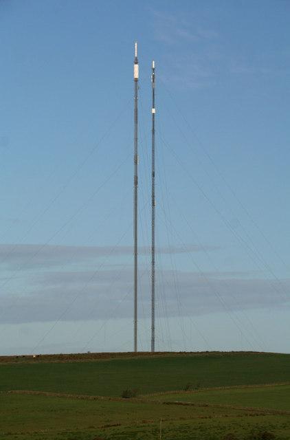 Caldbeck Transmitter Masts