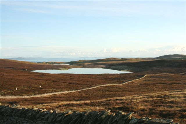 One of the Beosetter lochs taken from back of old Cruester camps