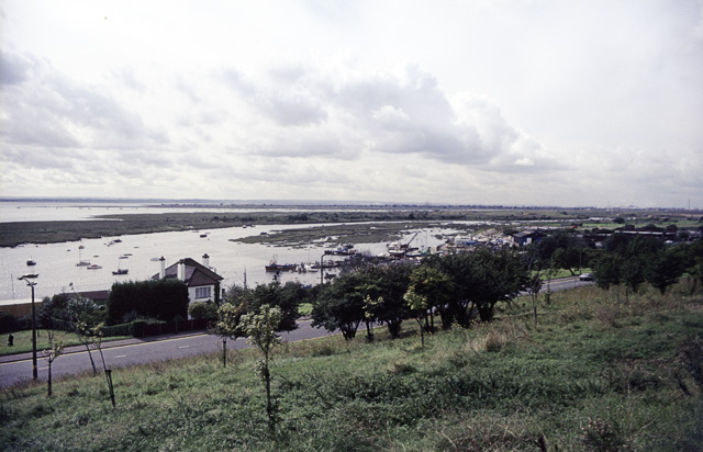 Two-Tree Island from Belton Hills, Leigh-on-Sea