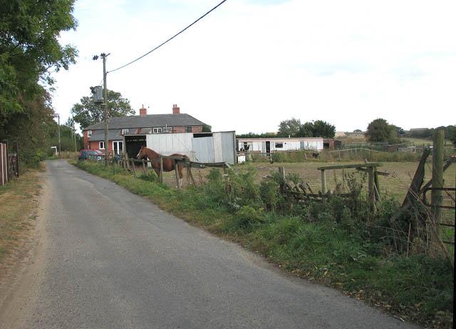 Approaching Limpenhoe on Marsh Lane