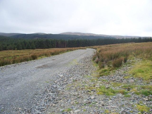 New track on Cefn Croes Wind Farm
