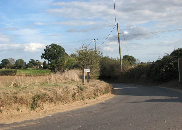 View east along Freethorpe Road