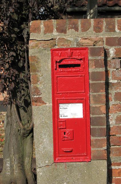 Victorian wall box by Church Farm