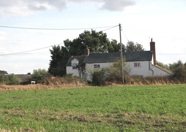 Cottage on the corner of Well, Freethorpe and Church Roads