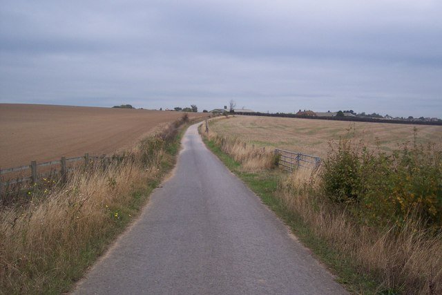 The Crab and Winkle Cycle path towards Whitstable