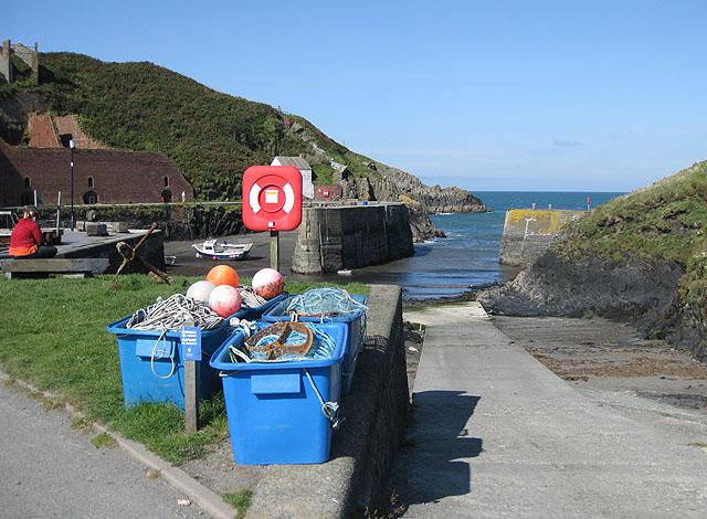 Slipway, Porthgain harbour
