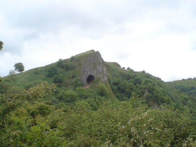 Thor's Cave Derbyshire Peak District
