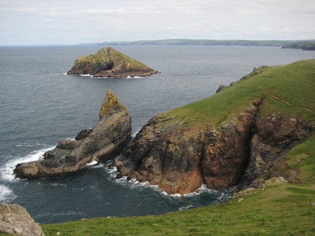 The Mouls viewed from The Rumps