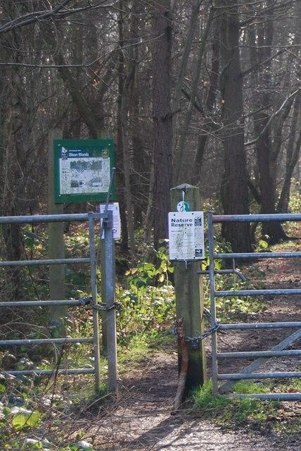 Information Boards, Blean Wood Nature Reserve