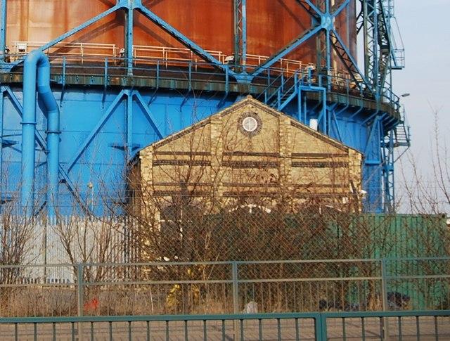 Part of the old Gasworks, Gillingham