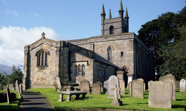 St. Mary's, Belford, from northeast