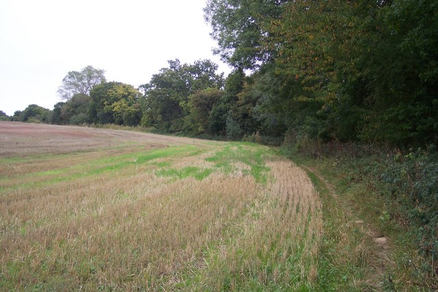 Footpath along the Fishbourne River