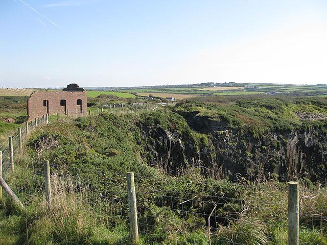 Former slate quarry, Porthgain