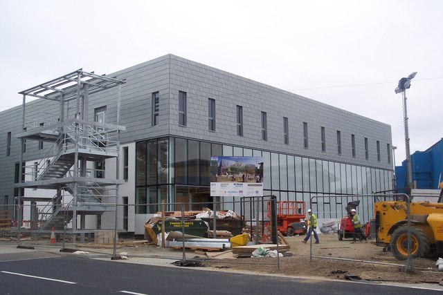 The Construction of the new School of Drama, Film and Visual Arts