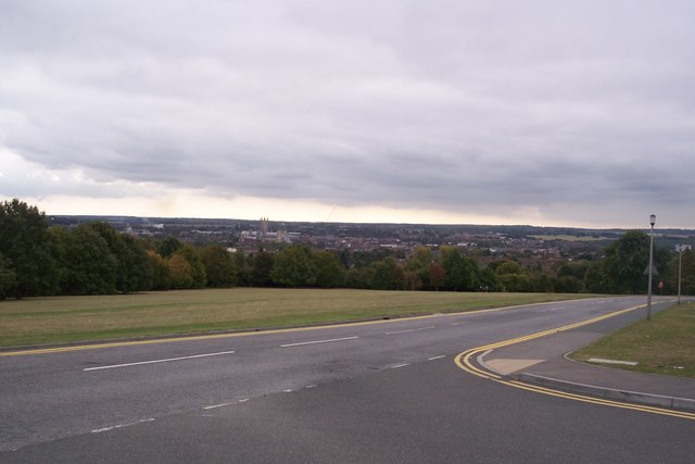 View of Canterbury from the University of Kent