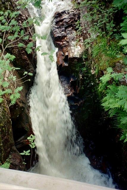 Glen Nevis, Waterfall
