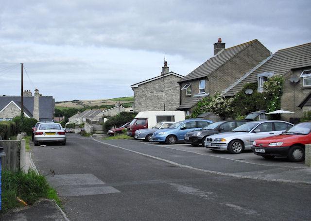 School Lane, West Lulworth