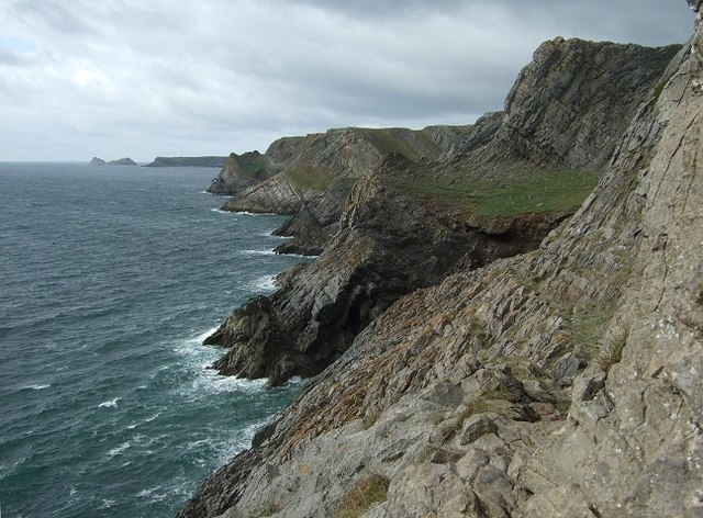 Gower Coastline, South Western Tip