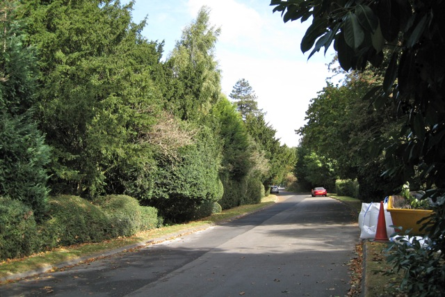Former A429 near Longbridge Manor, Warwick