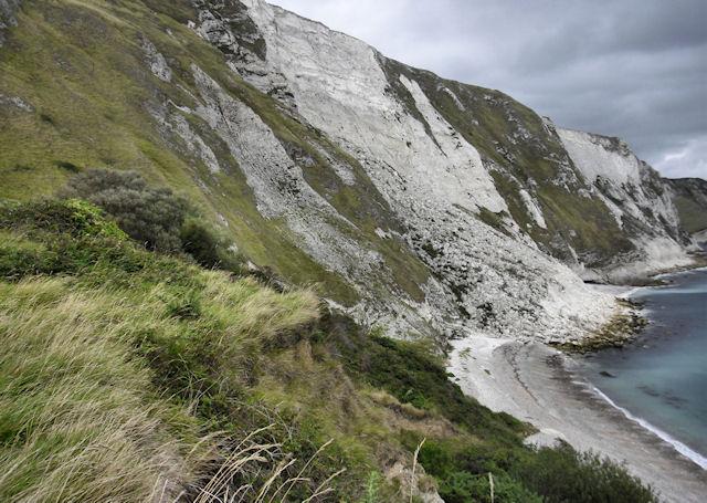 Cliffs, Mupe Bay