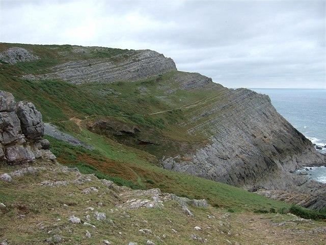 Lower Coastal Path, The Gower