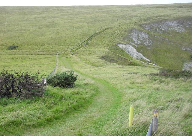 South West Coast Path, Mupe Bay