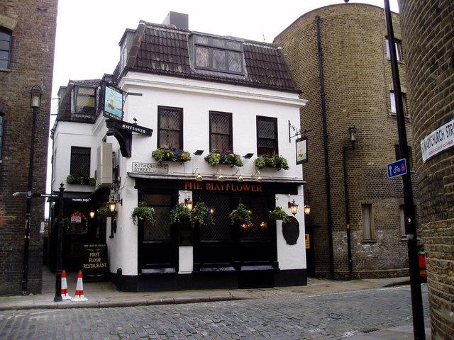 Mayflower pub. 117, Rotherhithe Street, London, SE16