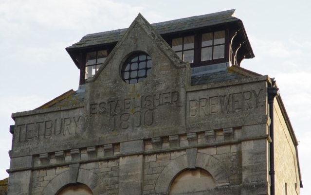 Tetbury Brewery tower