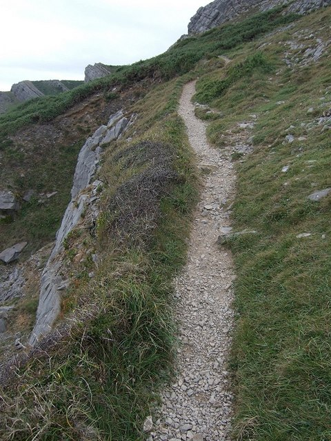 Close to the Edge, Overton Cliff Pathway
