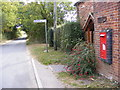 TG0524 : Reepham Road &  Themelthorpe Road  Victorian Postbox by Adrian Cable