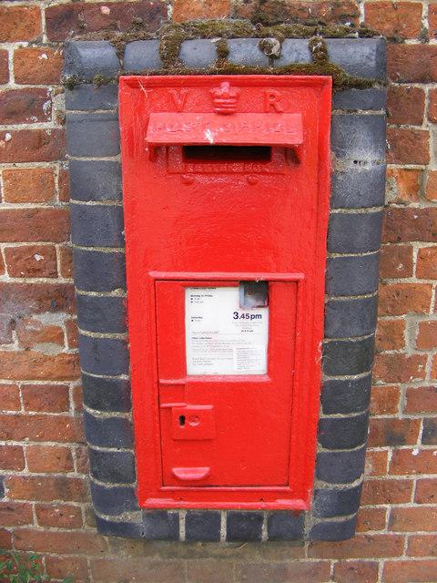 Themelthorpe Road  Victorian Postbox